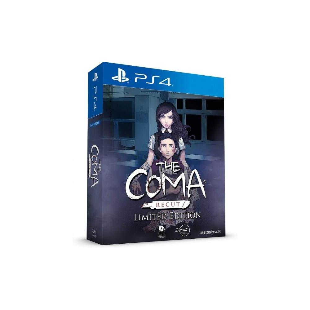 THE COMA RECUT LIMITED EDITION PS4 ASIAN AVEC TEXTE EN ANGLAIS NEW