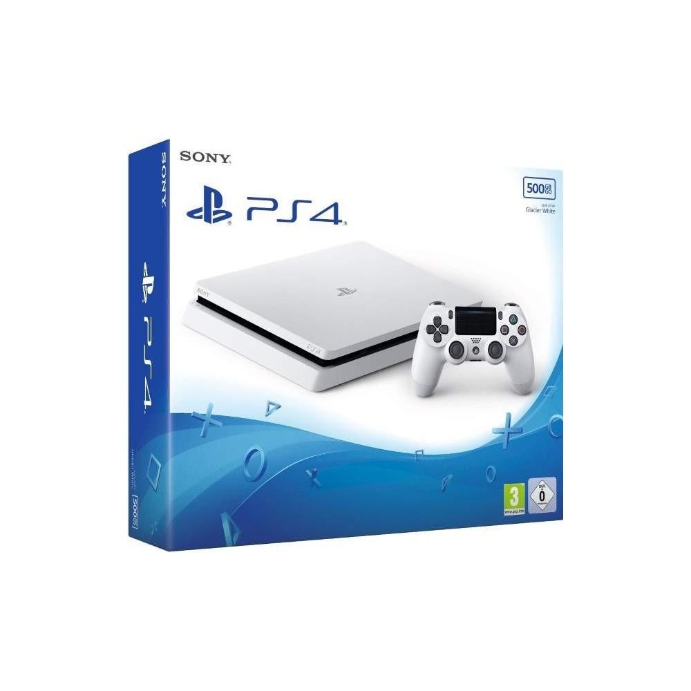CONSOLE PS4 SLIM BLANC 500 GO EURO NEW