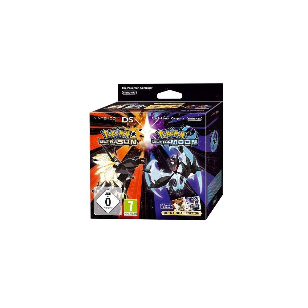 POKEMON ULTRA-SOLEIL / ULTRA-LUNE - ULTRA DUAL EDITION 3DS EURO FR OCCASION
