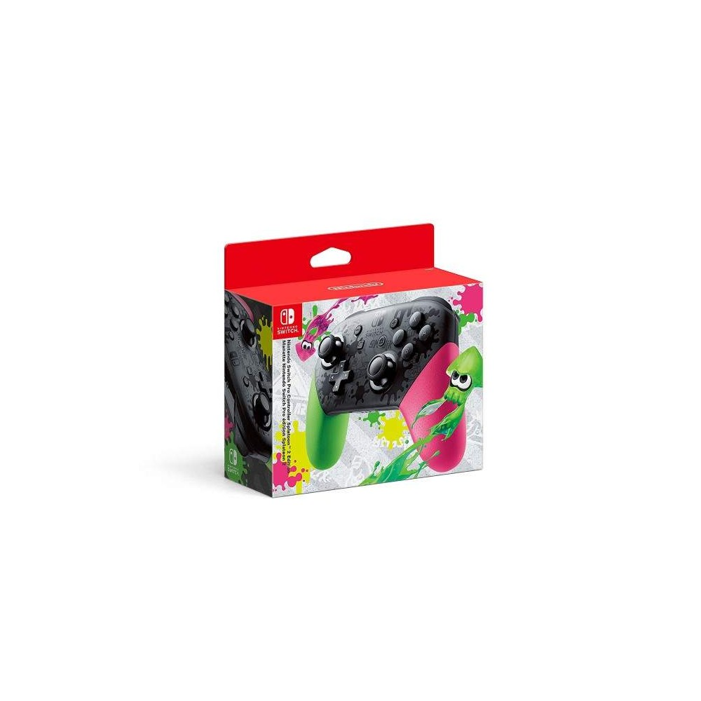 CONTROLLER PRO SPLATOON 2 EDITION LIMITEE SWITCH EURO OCCASION