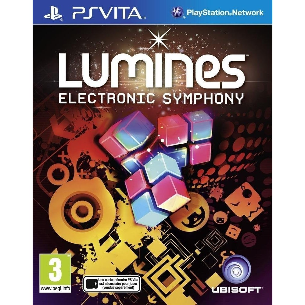 LUMINES ELECTRONIC SYMPHONY PSVITA FR OCCASION