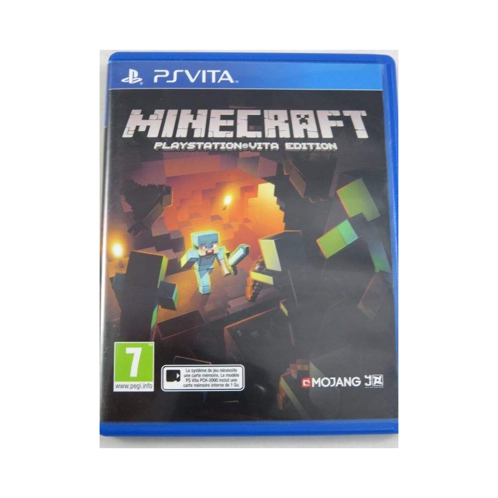 buy minecraft psvita euro fr occasion game 74624 trader games. Black Bedroom Furniture Sets. Home Design Ideas
