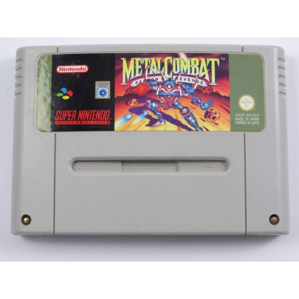 METAL COMBAT SNES PAL-FAH LOOSE