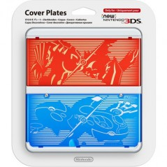COVERPLATE N 9 POKEMON RUBIS SAPHIRE NEW 3DS
