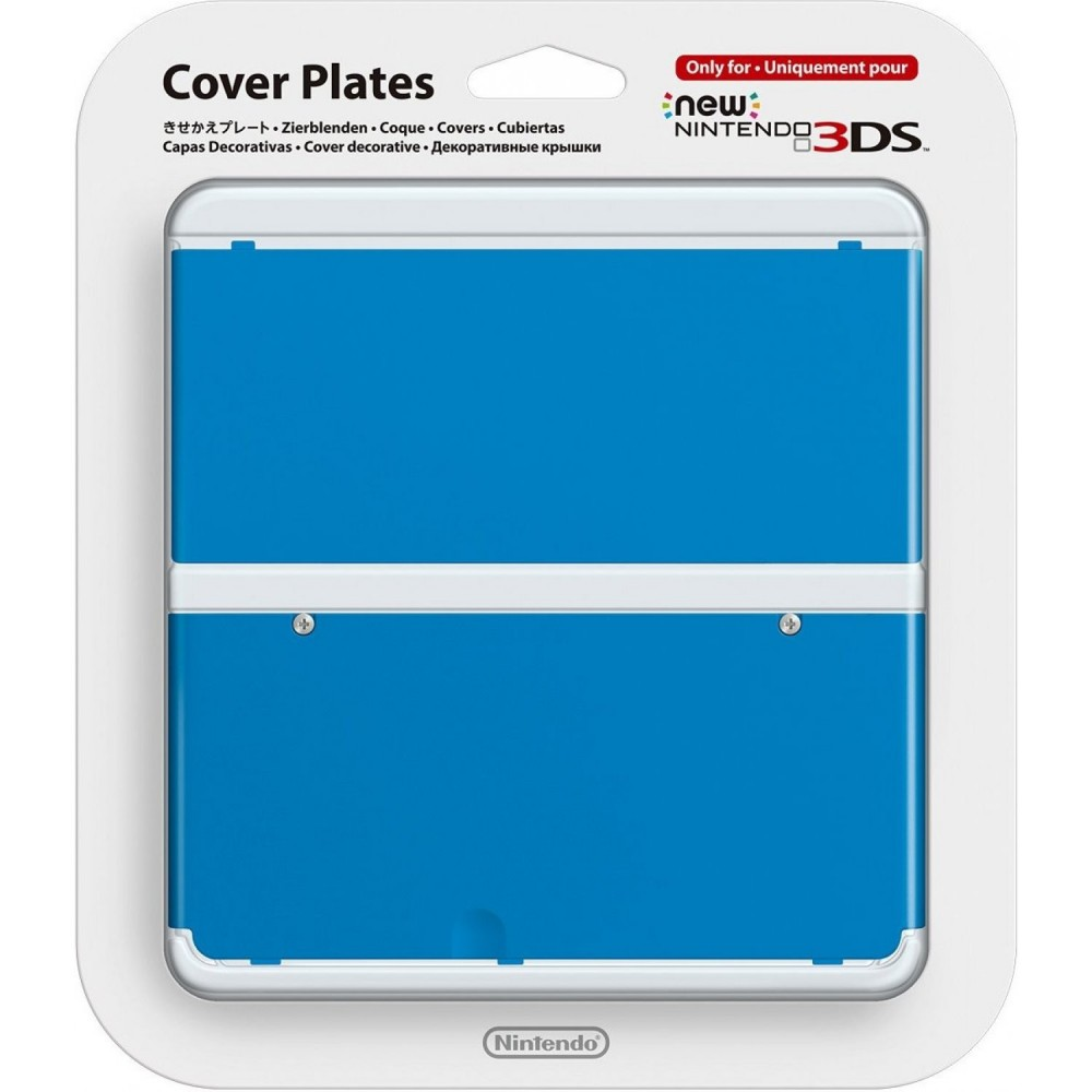 COVERPLATE N 10 BLEUE NEW 3DS