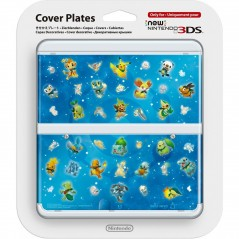 COVERPLATE N 63 POKEMON CHARACTERS NEW 3DS