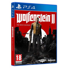 WOLFENSTEIN II THE NEW COLOSSUS PS4 UK OCCASION