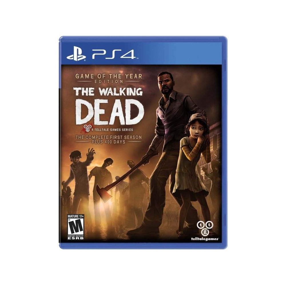 THE WALKING DEAD THE COMPLETE FIRST SEASON 1 PS4 US OCCASION