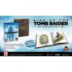 RISE OF THE TOMB RAIDER 20 YEAR ANNIVERSARY AVEC ARTBOOK PS4 EURO OCCASION