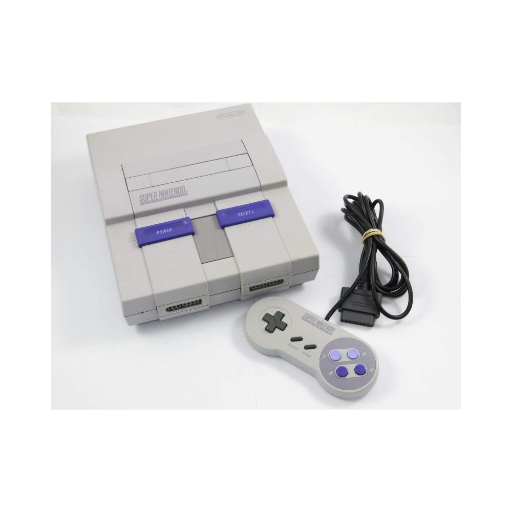 CONSOLE SNES MODIFIEE REGION FREE NTSC-USA OCCASION