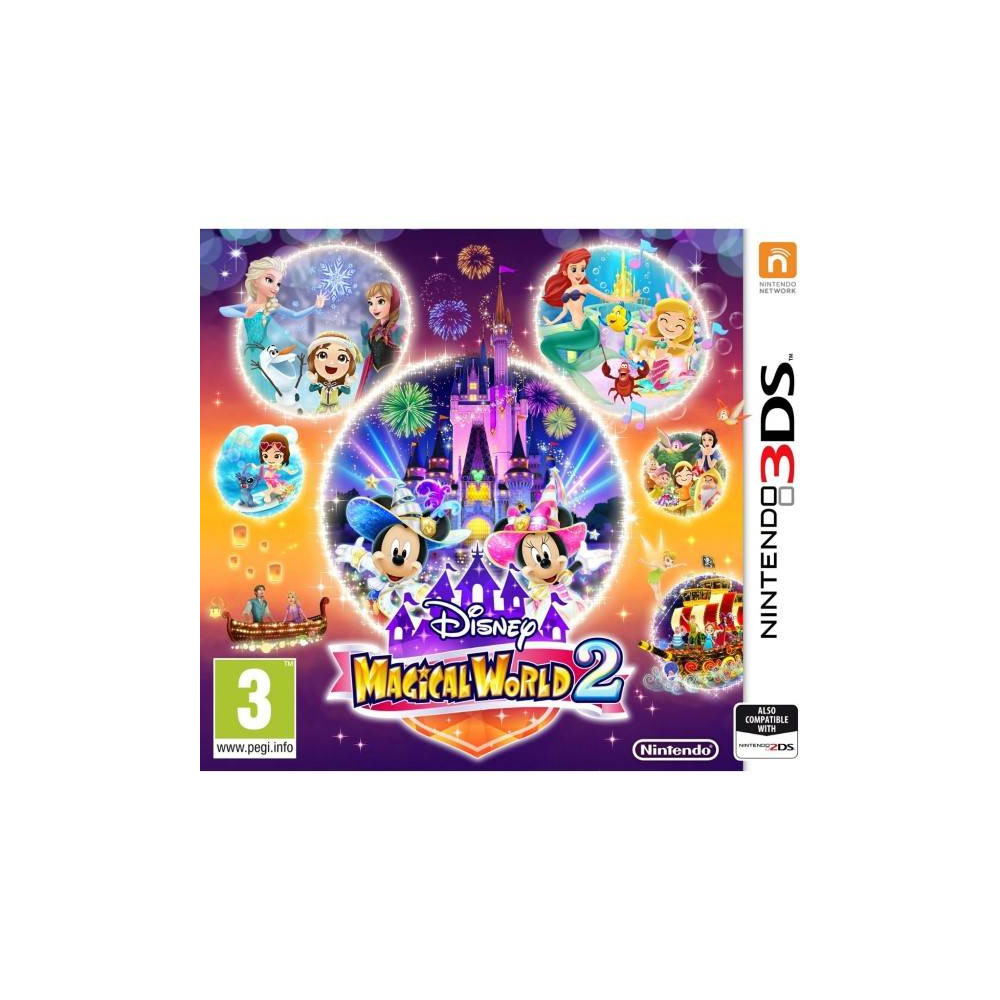 DISNEY MAGICAL WORLD 2 3DS PAL-FR OCCASION