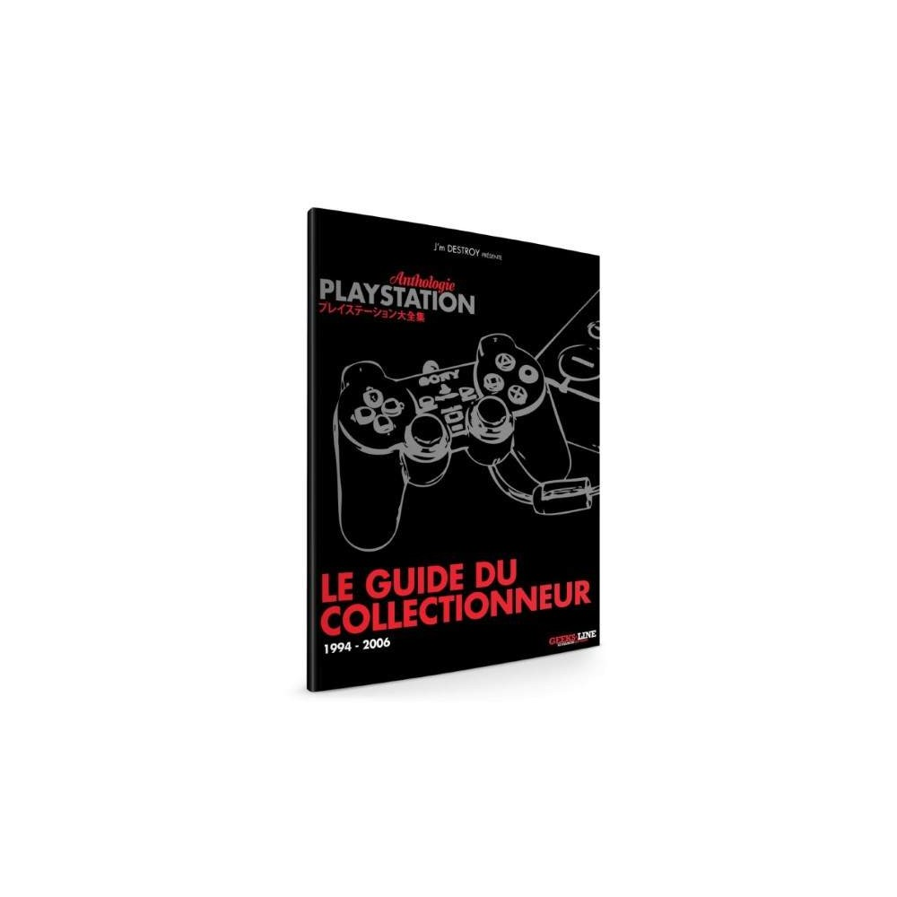 ANTHOLOGIE PLAYSTATION BOOK NEW FR