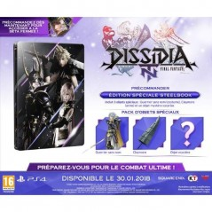 DISSIDIA NT FINAL FANTASY STEELBOOK EURO FR NEW