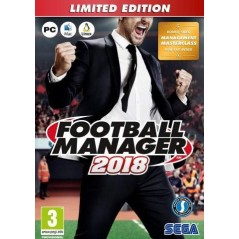 FOOTBALL MANAGER 2018 PC EURO FR NEW