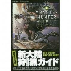 GUIDE MONSTER HUNTER WORLD JAP NEW