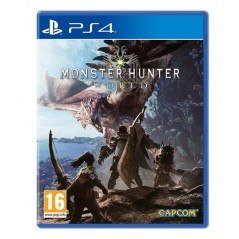MONSTER HUNTER WORLD PS4 FR OCCASION