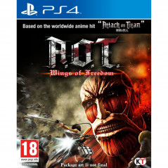 ATTACK ON TITAN WINGS OF FREEDOM PS4 EURO-UK OCCASION