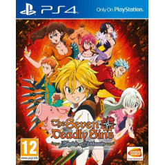 THE SEVEN DEADLY SINS KNIGHTS OF BRITANNIA PS4 FR NEW