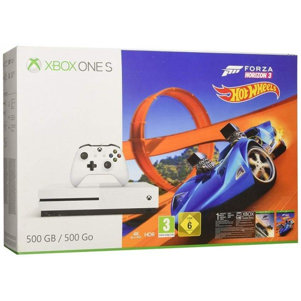 CONSOLE XBOX ONE SLIM 500 GO + FORZA HORIZON 3 EURO NEW