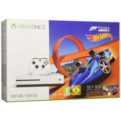 CONSOLE XBOX ONE SLIM 500 GO + FORZA HORIZON 3 EURO NEW