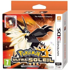 POKEMON ULTRA SOLEIL STEELBOOK EDITION 3DS FR OCCASION