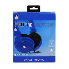 CASQUE STEREO GAMING PRO4 BLEU PS4 / PSVITA EURO NEW