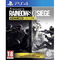 RANBOW SIX SIEGE ADVANCED EDITION PS4 FR NEW