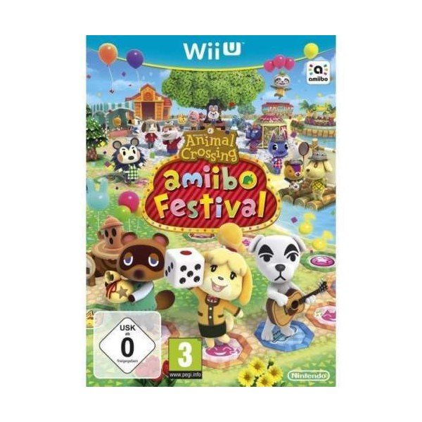 ANIMAL CROSSING AMIIBO FESTIVAL WIIU PAL-EURO NEW