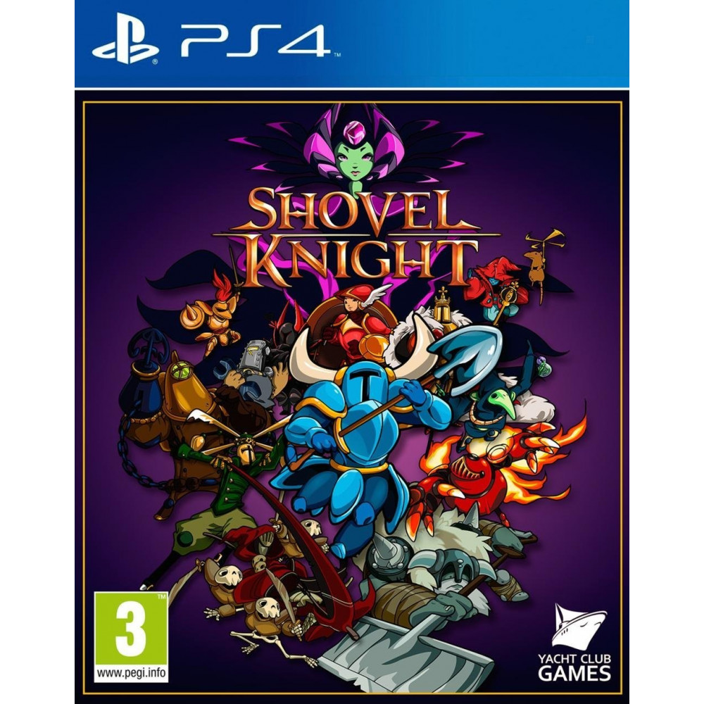 SHOVEL KNIGHT PS4 FR OCCASION