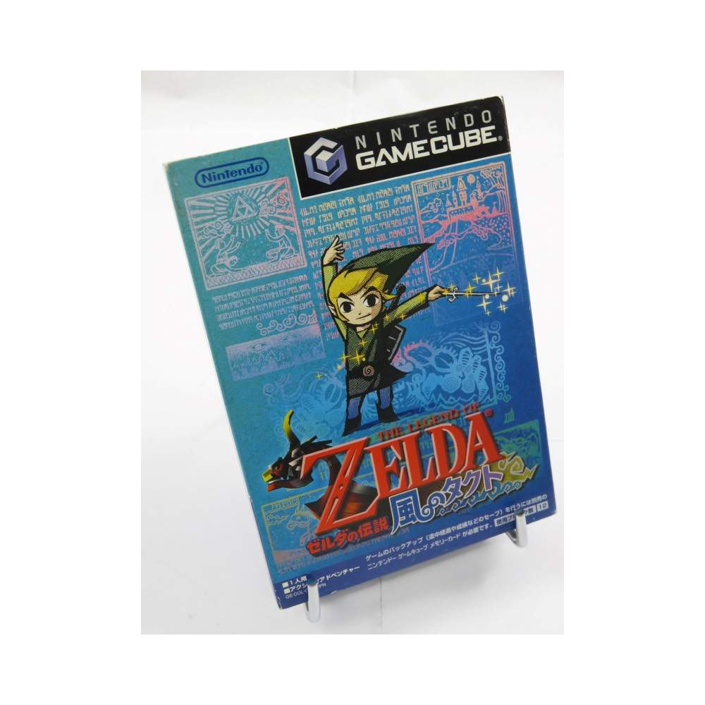 THE LEGEND OF ZELDA TASK OF THE WIND GAMECUBE NTSC-JPN OCCASION