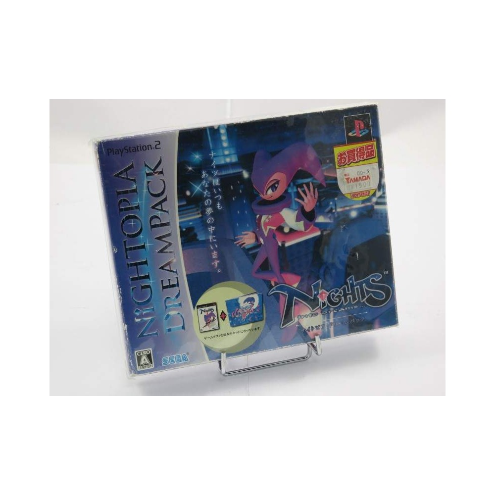 NIGHTS INTO DREAMS... (NIGHTOPIA DREAM PACK) PS2 NTSC-JPN NEW
