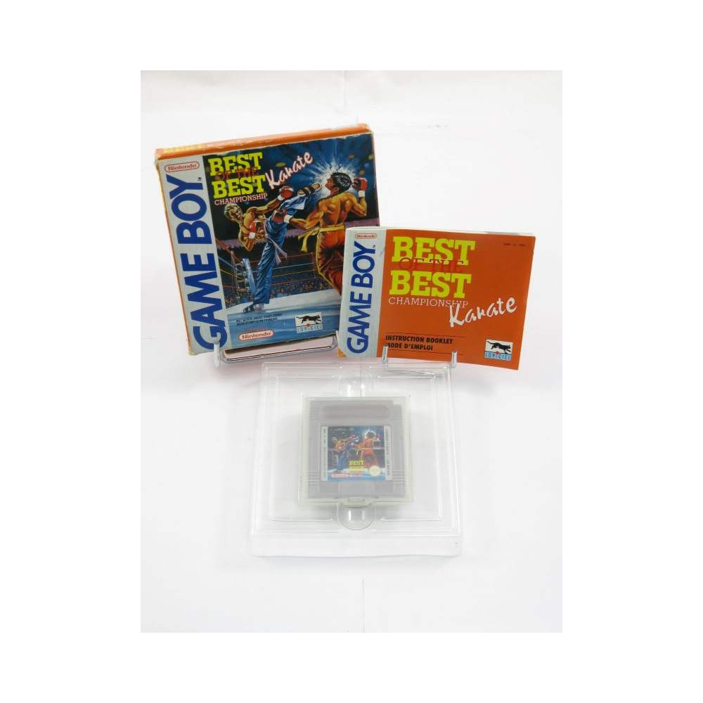 BEST OF THE BEST CHAMPIONSHIP KARATE GAMEBOY FAH OCCASION