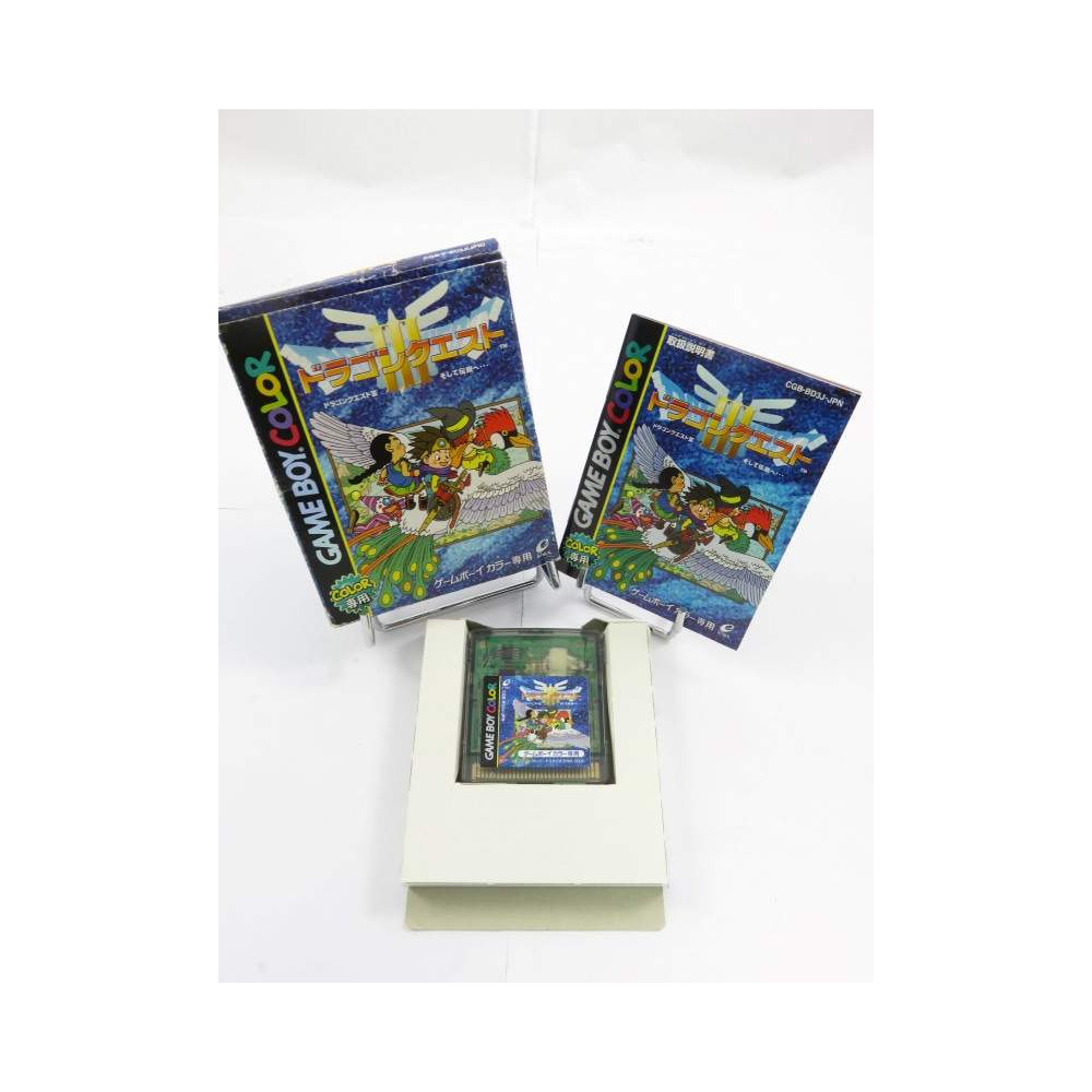 DRAGON QUEST III GAMEBOY COLOR JPN OCCASION