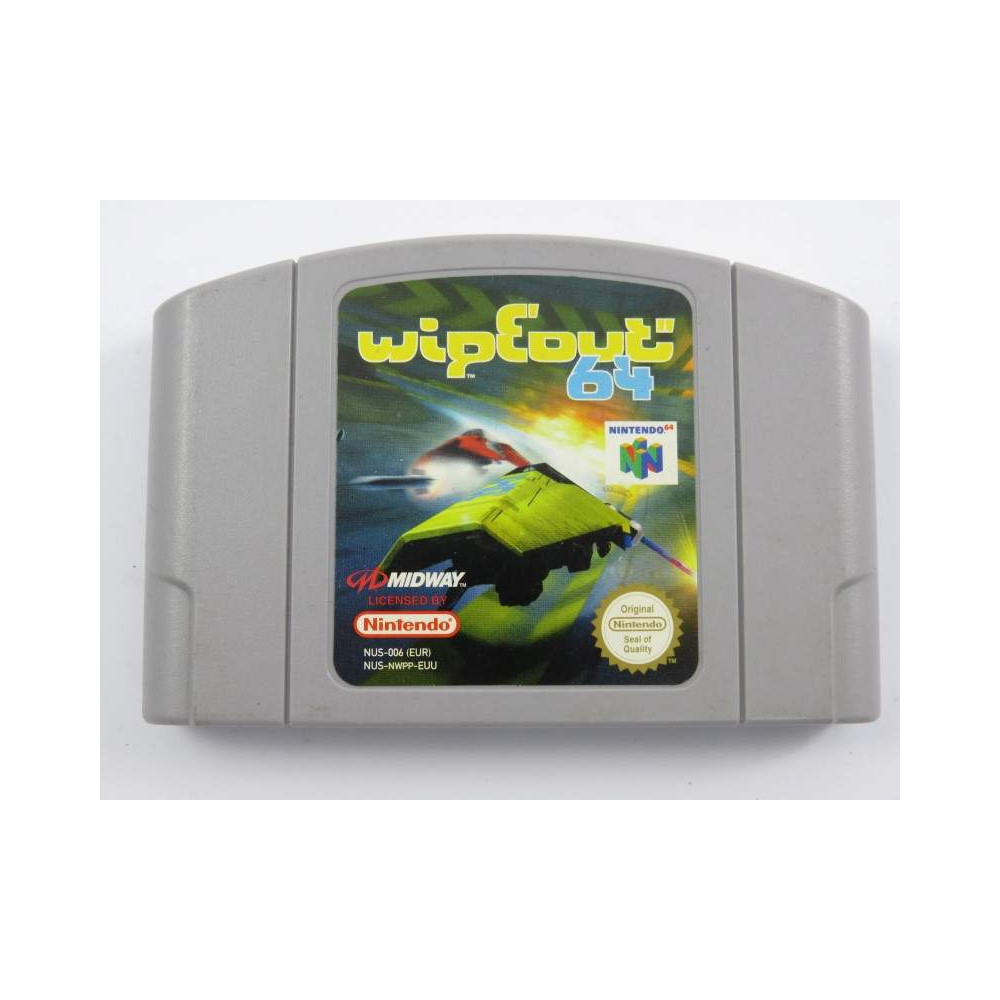 WIPEOUT 64 N64 PAL-EUR LOOSE