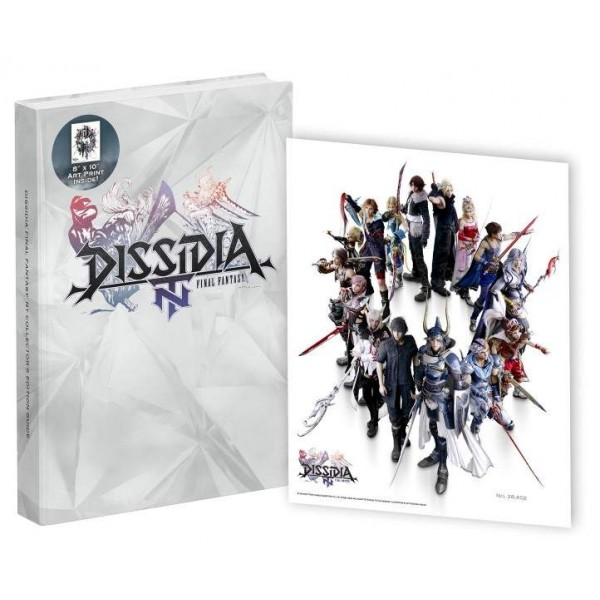 GUIDE DISSIDIA NT FINAL FANTASY COLLECTOR UK NEW