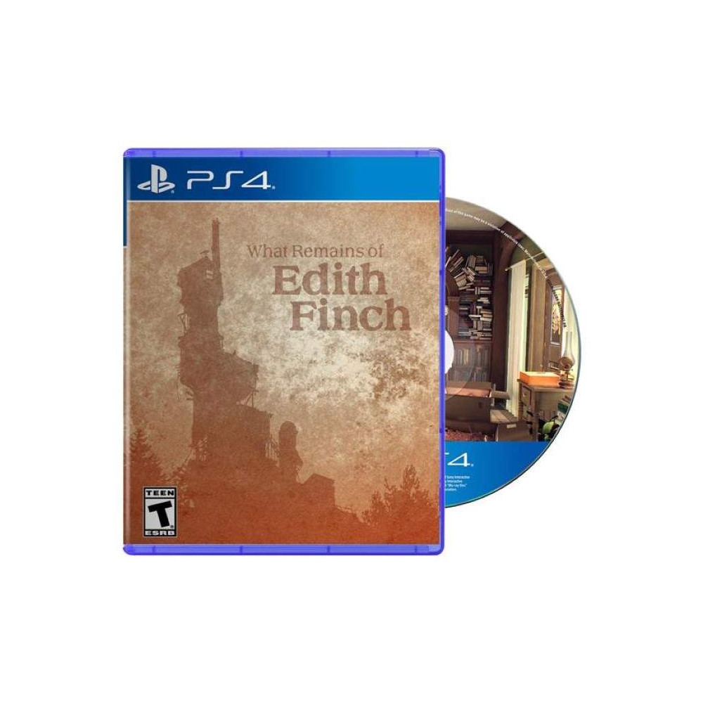 WHAT REMAINS OF EDITH FINCH PS4 US NEW