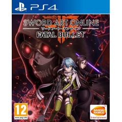 SWORD ART ONLINE FATAL BULLET PS4 UK NEW