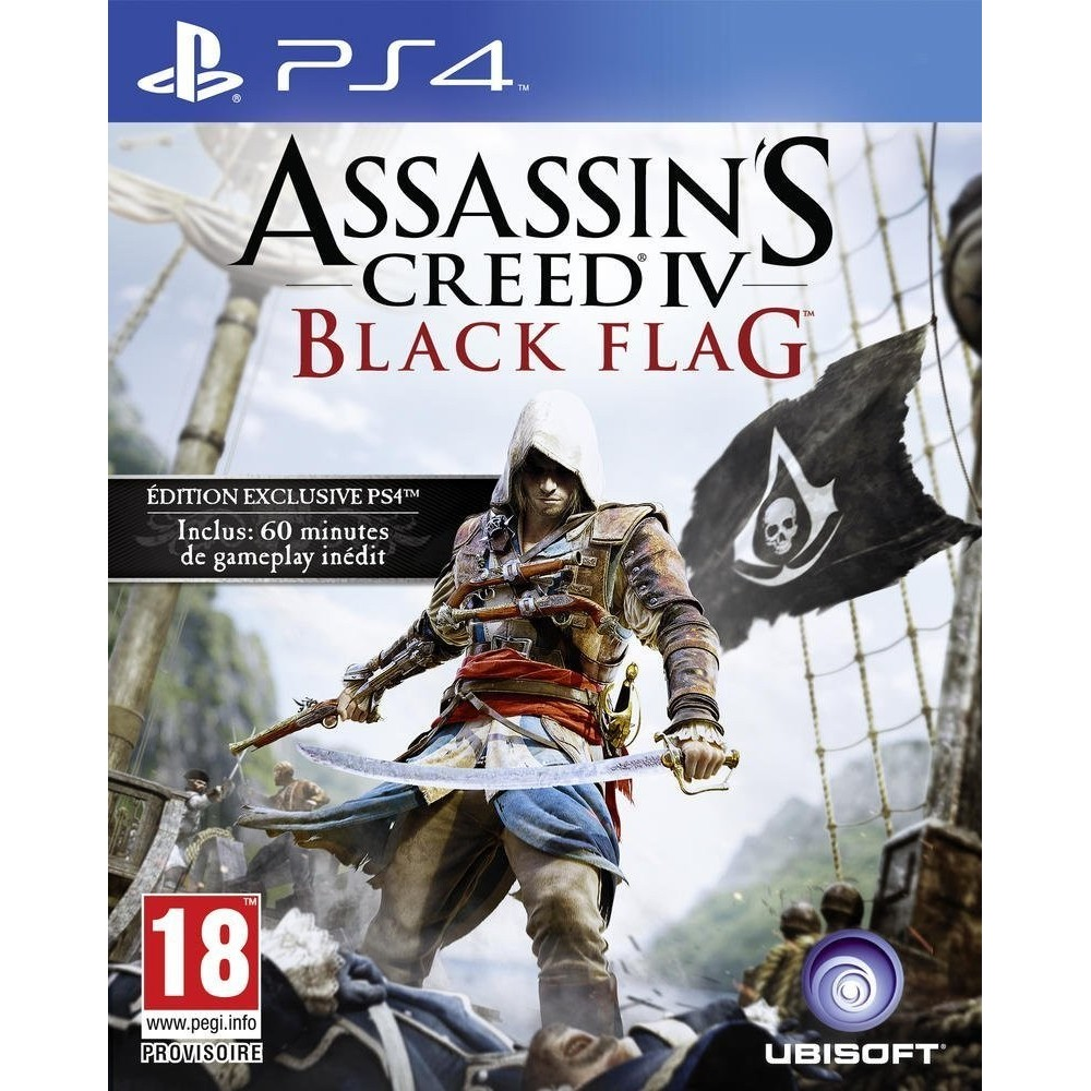 ASSASSIN S CREED IV BLACK FLAG PS4 UK OCCASION