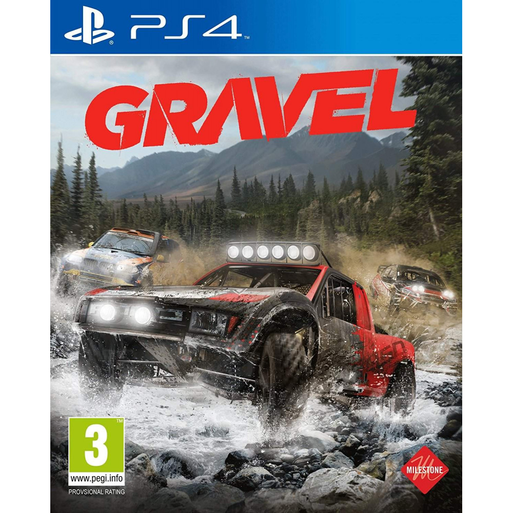 GRAVEL PS4 UK OCCASION
