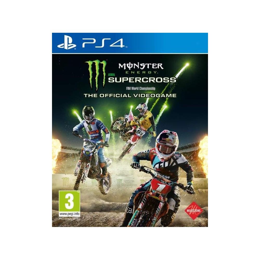 MONSTER ENERGY SUPERCROSS PS4 UK NEW