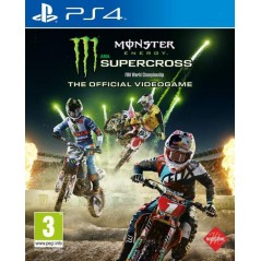 MONSTER ENERGY SUPERCROSS PS4 UK NEW