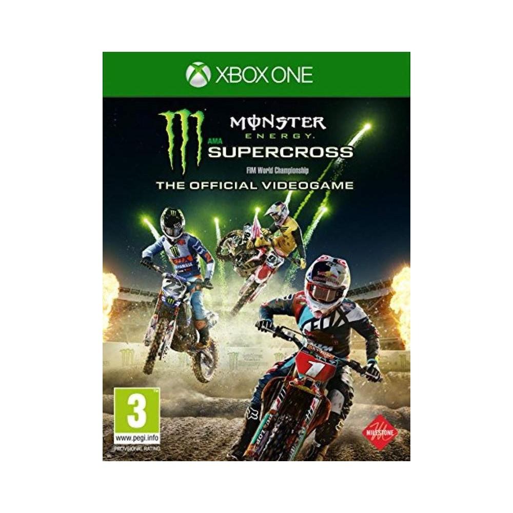 MONSTER ENERGY SUPERCROSS XBOX ONE UK NEW