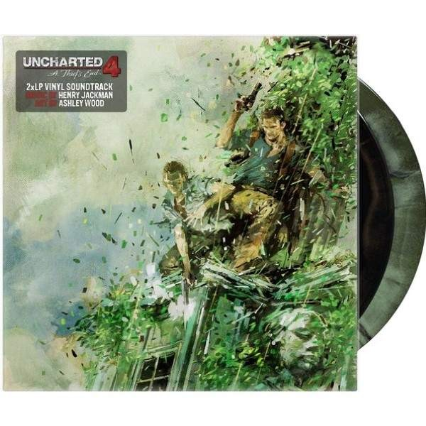 VINYLE UNCHARTED 4 : A THIEF S END (X2 LP COLOURED) OST NEW