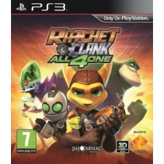 RATCHET & CLANK ALL 4 ONE PS3 FR OCCASION