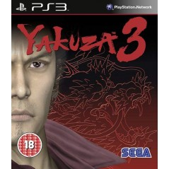 YAKUZA 3 PS3 UK OCCASION