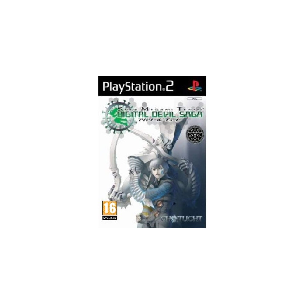 SHIN MEGAMI TENSEI DIGITAL DEVIL SAGA PS2 PAL-UK NEW