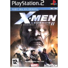 X MEN LEGENDS II PS2 PAL-FR OCCASION