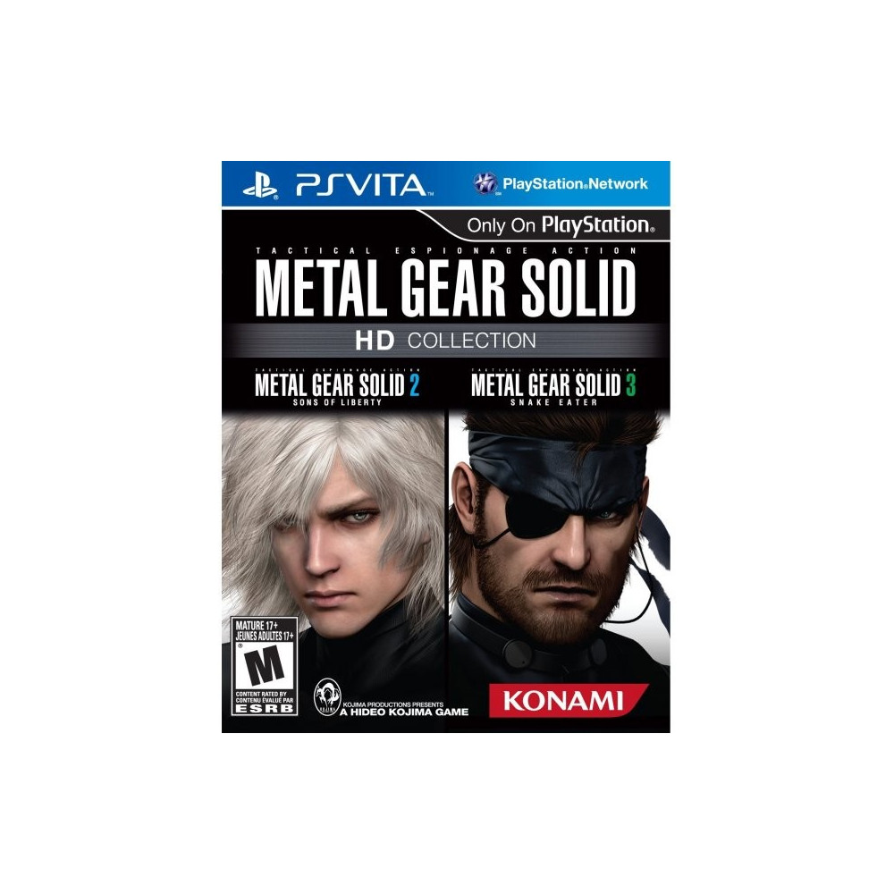 METAL GEAR SOLID HD COLLECTION PSVITA USA OCCASION