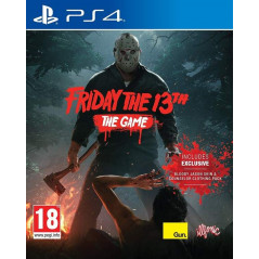 FRIDAY THE 13 TH PS4 UK NEW