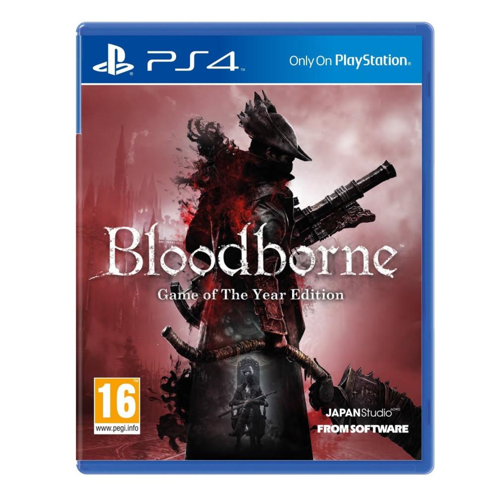 BLOODBORNE GOTY PS4 EURO POL NEW